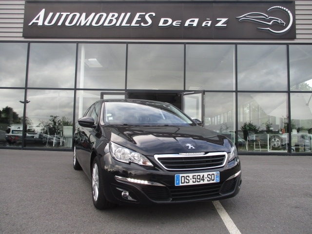 Photo 1 de l'offre de PEUGEOT 308 SW 1.6 BLUEHDI 120CH ACTIVE BUSINESS S&S EAT6 à 11490€ chez AUTOMOBILES DE A A Z DOMALAIN