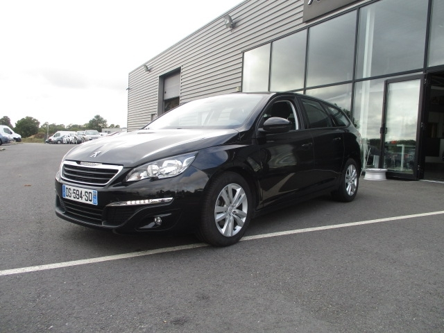 Photo 2 de l'offre de PEUGEOT 308 SW 1.6 BLUEHDI 120CH ACTIVE BUSINESS S&S EAT6 à 11490€ chez AUTOMOBILES DE A A Z DOMALAIN