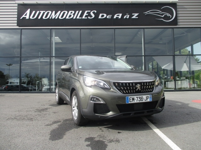 Peugeot 3008 1.6 BLUEHDI 120CH ACTIVE BUSINESS S&S EAT6 Diesel GRIS F Occasion à vendre