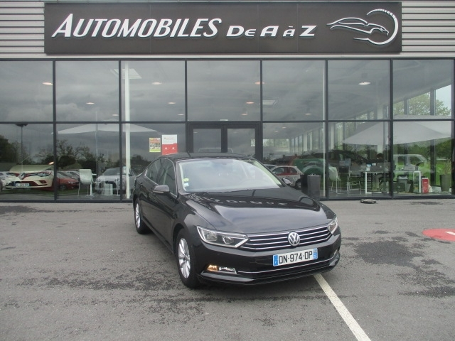 Volkswagen PASSAT 2.0 TDI 150CH BLUEMOTION TECHNOLOGY CONFORTLINE BUSINESS DSG6 Diesel NOIR Occasion à vendre