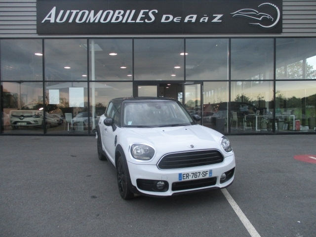 Mini COUNTRYMAN COOPER D 150CH CHILI ALL4 BVA Diesel BLANC Occasion à vendre