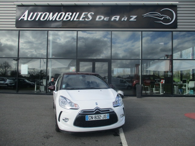 Citroen DS3 1.6 E-HDI90 (92) AIRDREAM EXECUTIVE 5CV Diesel BLANC Occasion à vendre