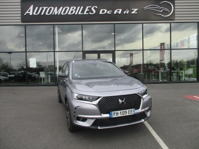 Ds DS 7 CROSSBACK PURETECH 225CH GRAND CHIC AUTOMATIQUE 12CV Essence GRIS F Occasion à vendre