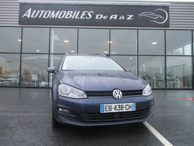 Volkswagen GOLF VII SW 1.6 TDI 110CH BLUEMOTION TECHNOLOGY FAP CONFORTLINE BUSINESS Diesel BLEU F Occasion à vendre