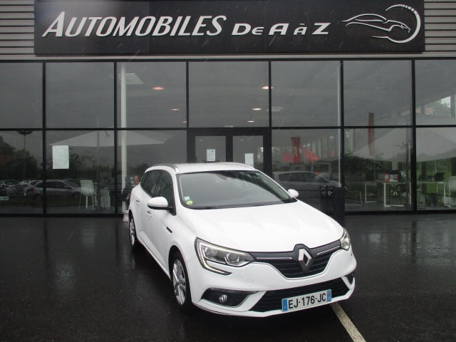 Renault MEGANE IV ESTATE 1.5 DCI 90CH ENERGY BUSINESS Diesel BLANC Occasion à vendre