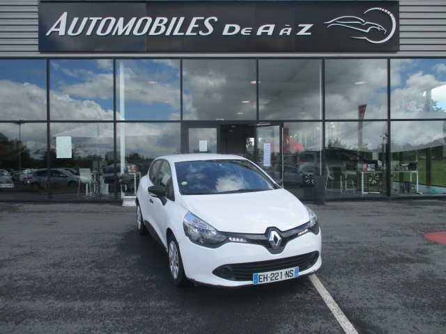 Renault CLIO IV 1.5 DCI 75CH ENERGY AIR EURO6 Diesel BLANC Occasion à vendre