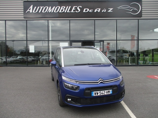 Citroen GRAND C4 PICASSO BLUEHDI 120CH BUSINESS S&S EAT6 Diesel BLEU Occasion à vendre