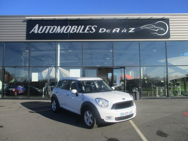 Mini COUNTRYMAN ONE 98CH Essence BLANC Occasion à vendre