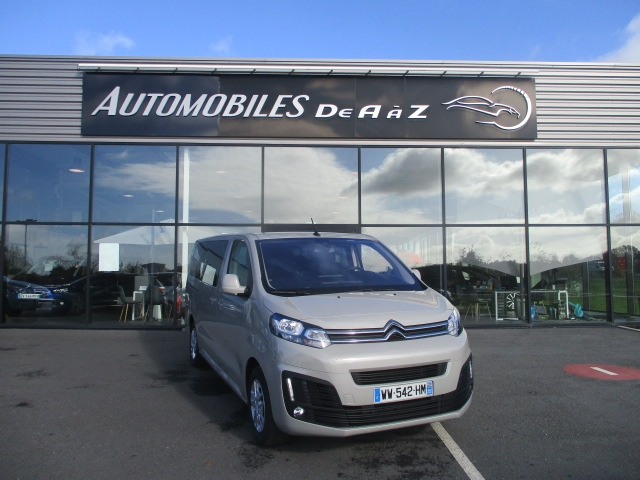 Citroen SPACETOURER XL BLUEHDI 150CH BUSINESS S&S E6.D-TEMP Diesel BEIGE ARENA Occasion à vendre