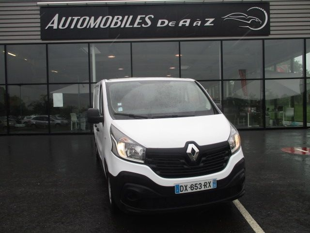 Renault TRAFIC III FG L1H1 1000 1.6 DCI 90CH STOP&START CONFORT Diesel BLANC Occasion à vendre
