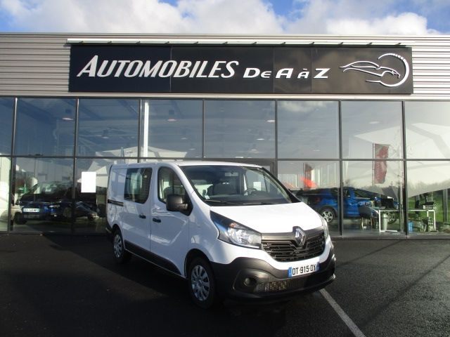 Renault TRAFIC III FG L1H1 1000 1.6 DCI 120CH ENERGY GRAND CONFORT Diesel BLANC Occasion à vendre